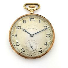 Gold pocket watch 'Chronometre'