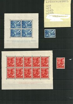 The Netherlands – Selection with Legion and Official stamps