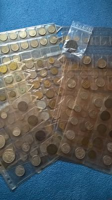 France - Collection of 258 coins (including 8 silver) 1582-1990