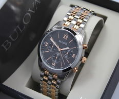 Bulova – Men's Luxury Chronograph Watch – New & Mint Condition