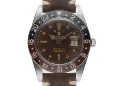 Rolex GMT Master Bakelite Tropical Brown Roulette open 6/9 Vintage Bj.1959