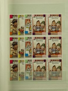The Netherlands Antilles 2004/2008 – Collection of series and blocks