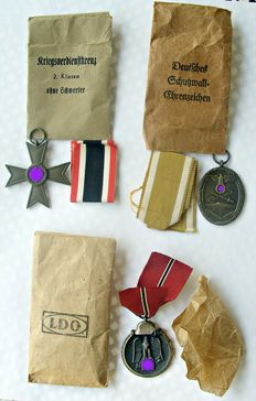 Third Reich / WWII: 3 different decorations