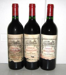 1992 Château l'Eglise Clinet, Grand Vin de Pomerol, Lot of 3 bottles