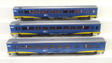 Märklin H0 - 42643 - Set van 3 personenwagens InterCity Plus van de NS