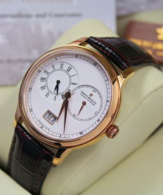 Dreyfuss & Co - Mens - Swiss Hand Made - Dual Time Zone Watch - New & Mint Condition