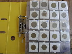 Mexico - Collection of coins in collector's album (approx. 180 coins)
