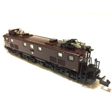 Kato N - 3072 - electronic locomotive Class EF13 from the JR, in Brown color