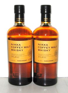 Nikka Coffey Malt - 70cl - 45% - Lot 2 Bottles