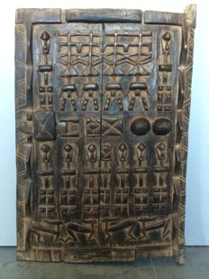 Mil granary door - DOGON - Mali