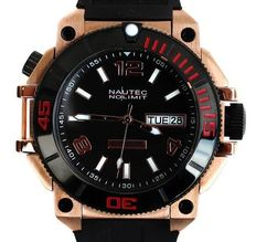 Nautec No Limit Diver Ultimate Ocean 2 - Men's wristwatch - 2017, new model