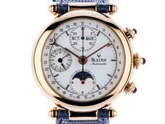 Bulova chronograph full calendar moon phase vintage year 2001