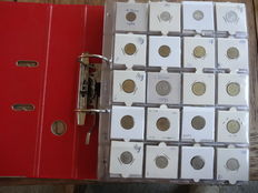 Yugoslavia - collection of coins in collection album (approx. 240 pieces)