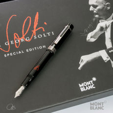 """Montblanc Special Edition Donation Pen Series """"Sir Georg Solti"""" Fountain Pen"""