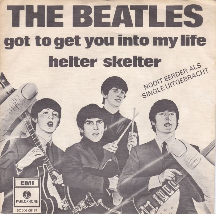 The Beatles-45 rpm Got to get you into my life-Helter skelter/Holl.Record mint -ps ex Ep Lady madonna-I should have known better-Can't buy me love-Maxwell's silver hammer/USSR Rec/mint ps/nm