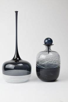 De Mio Giuliano - Pair of incalmo vases