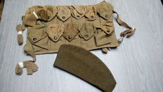 US grenade vest and headpiece