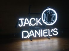 Very rare JACK DANIELS NO7 neon sign. NEW. 21ST CENTURY