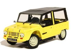 Norev - Scale 1/18 - Citroën Méhari 1983 - Yellow