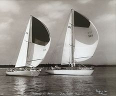 "Beken & Son, Cowes (20th) - ""Tonnerre and Griffin II, Cow Regatta 1964"""