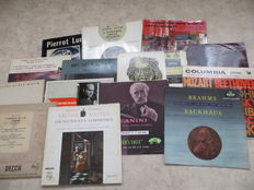 Collector's Items Classical Music from the fifties and sixties - Various Artists - lot of fourteen (14) LP's