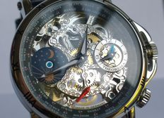 "Theorema ""Sao Paulo"" GM-103-1 - skeleton men's wristwatch"
