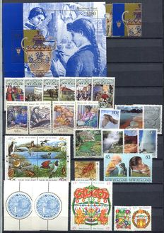 New Zealand 1993/2007 - collection of sets, sheetlets and mini-sheets.
