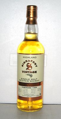 Tormore 1995 21 years old - Speyside - 70cl - 43% - Signatory Vintage