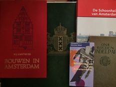 Amsterdam; Lot with 5 books - 1914/2013