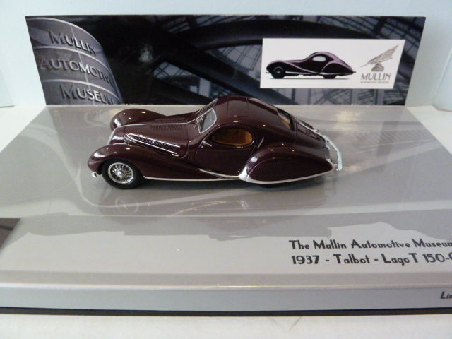 Talbot-Lago T 150-c-ss COUPE 1937 1:43 Minichamps 437117120 NUOVO /& OVP