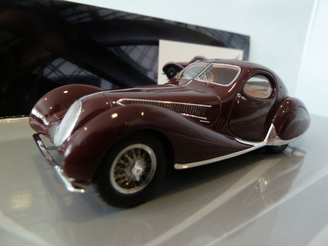 Minichamps - Scale 1/43 - Talbot Lago T 150-C-SS Coupe 1937