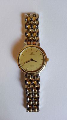 Ladies' Omega wristwatch, from the beginning of the 1980s.