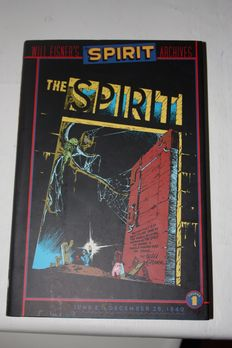 Will Eisner - The Spirit Archives Vol. 1, 2, 3, 4 - 4x hc with dustjacket - (2000 / 2001)