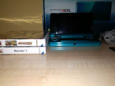 NIntendo 3DS Incl Mario Kart and Street Fighter