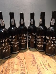 1983 Vintage Port Kopke - 6 bottles