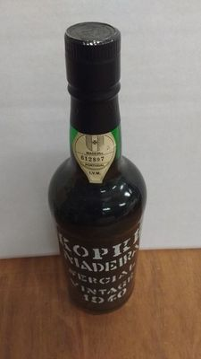 1940 Madeira Sercial Kopke - Portugal - bottled in 1998
