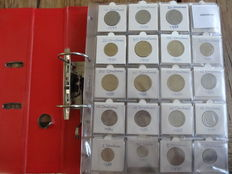 Greece - Collection of coins in collector's album (approx. 210 coins)
