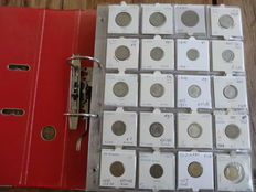 Egypt/Iran and Iraq - collection of coins in collector's album (Approx. 200 pieces) with a lot of great material