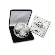 USA - 4 oz 999 American Silver Eagle with Box and certificate of authenticity with certificate - year 2013