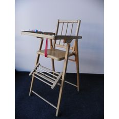 Unknown designer - vintage highchair