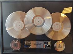 Madonna - Music - 3x Platinum Award