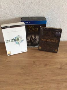 3 limited edition from ps4 and PS3 like final fantasy XIII