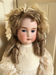 Beautiful antique doll C.M. Bergmann Germany