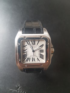 Cartier Santos 100 XL Ref: 2656 - Men's watch