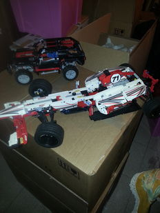 TECHNIC - 42000 + 8081 - Grand Prix Racer + Extreme Cruiser