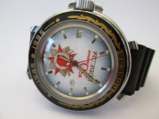 Vostok Komandirski – Russian men's watch from 1995, in never worn condition.
