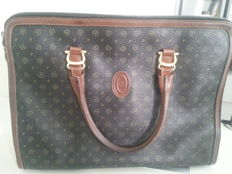 Pollini bag with double handles - Vintage
