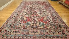 Beautiful hand-knotted Karachi carpet - 295 x 184 cm - CONDITION AS NEW - VERY INTERESTING RESERVE PRICE!!!