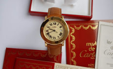 Must de Cartier Ronde Solo Ref. 1800 1 – Unisex Watch – 1994