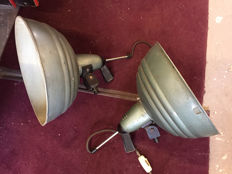IFF – vintage photographic lamps (x2)